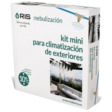 Kit nebulizacion microclima mini ideal para espacios - Kit nebulizador terraza ...